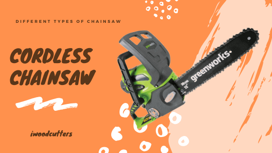 cordless chainsaw