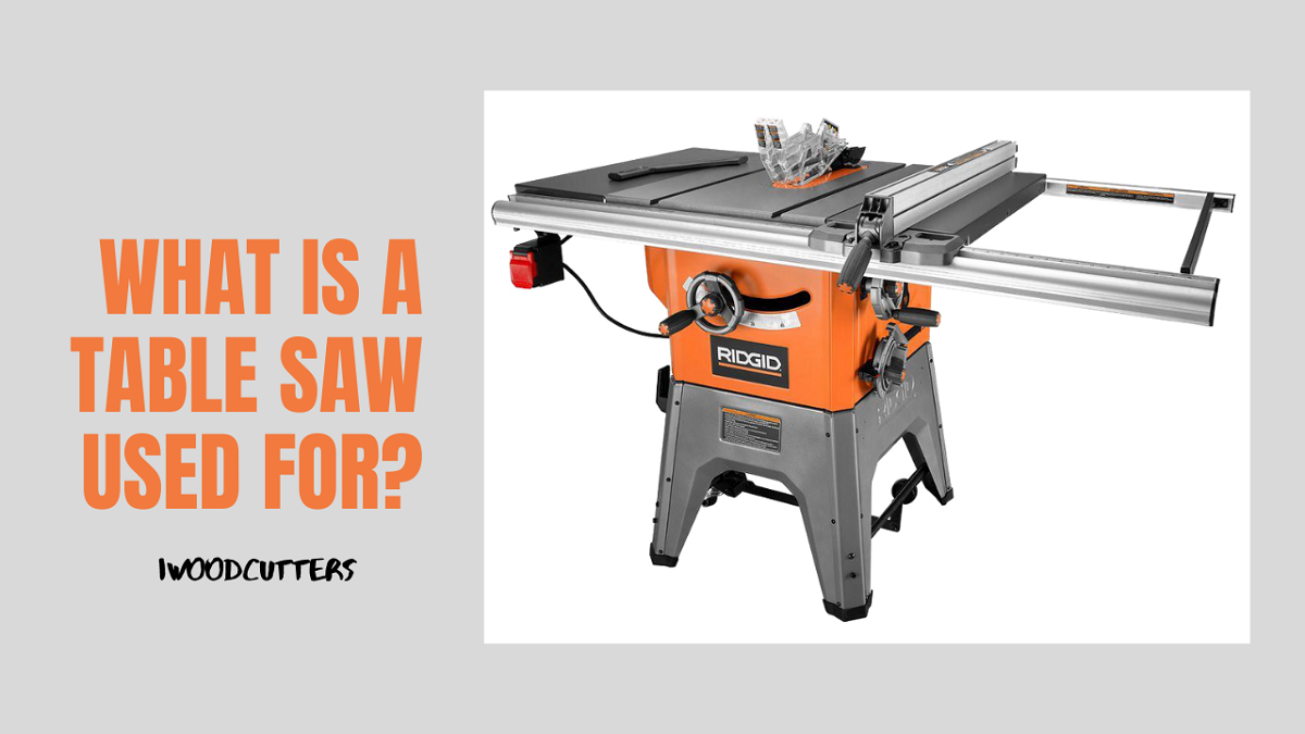 table saw used for