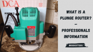 what is a plunge router